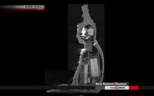 A CT scan shows items hidden inside the statue. From ancient-origins.net