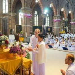 Thai Buddhist Order Finds Itself at Home in Dutch Catholic Church